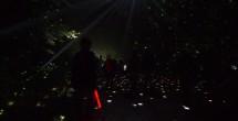 ミラーボールが輝く夜のフジロック