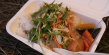 フジメシュラン〜カボチャとヒヨコ豆のグリーンカレー〜