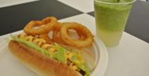 フジメシュラン〜Hot Dog&オニオンリング&フローズンカクテル(モヒート)〜