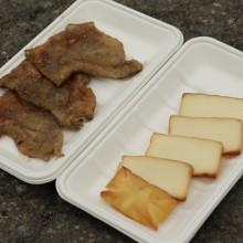 鳥皮せんべい薫製チーズ