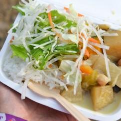 カレー食べくらべ:東山食堂