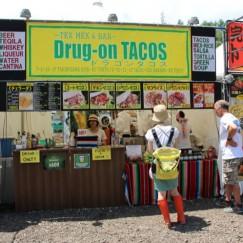 初出店:TEX MEX&BAR Drug-on TACOS取材