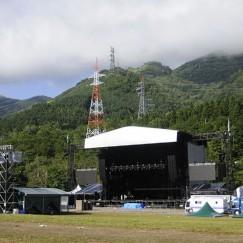 祭りのあと:グリーン・ステージ