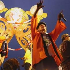 【動画】 前夜祭の盆踊り、そして花火があがりました!