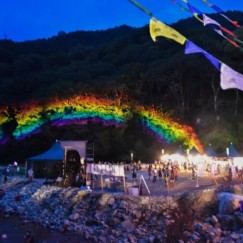 ところ天国に虹がかかってます!
