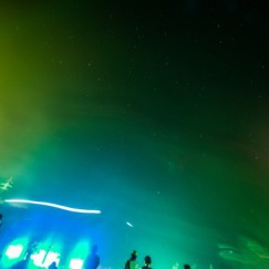 GREEN STAGEで星空を