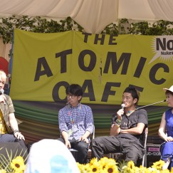 ATOMIC CAFÉ TALK [Tsuda Daisuke, Kato Tokiko, Goto Masafumi, TOSHI-LOW]