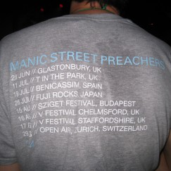"Manic Street Preachers Think Fuji ""Rocks"""