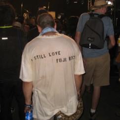 We Still Love Fuji Rock, Too!