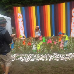 At The End Of Fuji Rock, A Bunch Of Bunnies