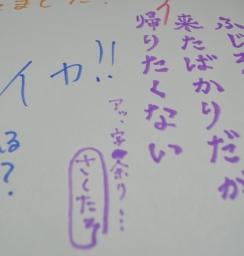 いろんな想い、アレコレ~フジロッカーの落書きシリーズ 2~