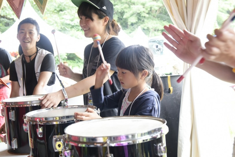 大団円で打楽器タイム