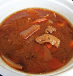 八丁味噌豚汁