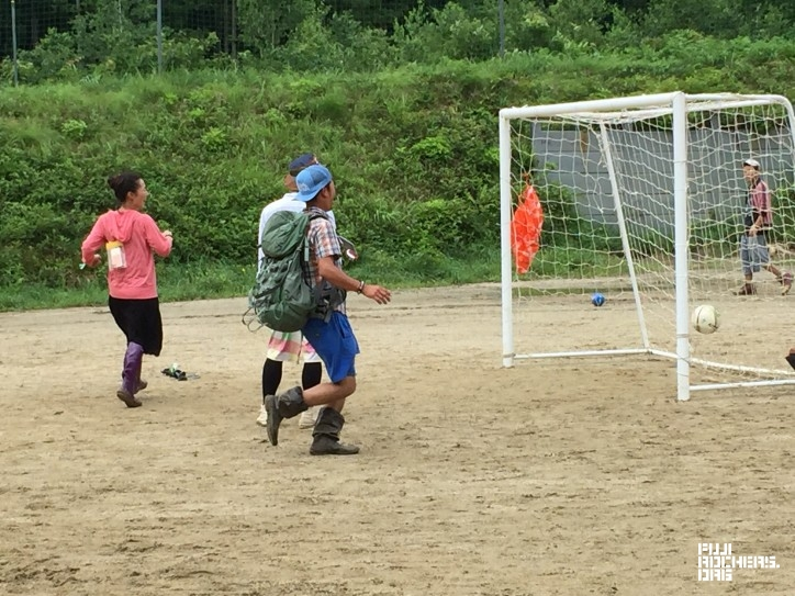 Fancy a game of footy at Fuji Rock?