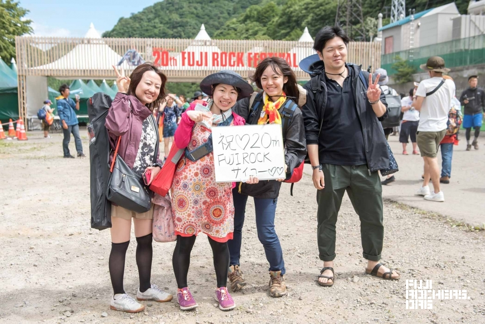 Message for 20th FUJIROCK! #03