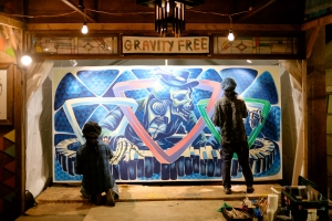 GRAVITY FREE  Live Paint
