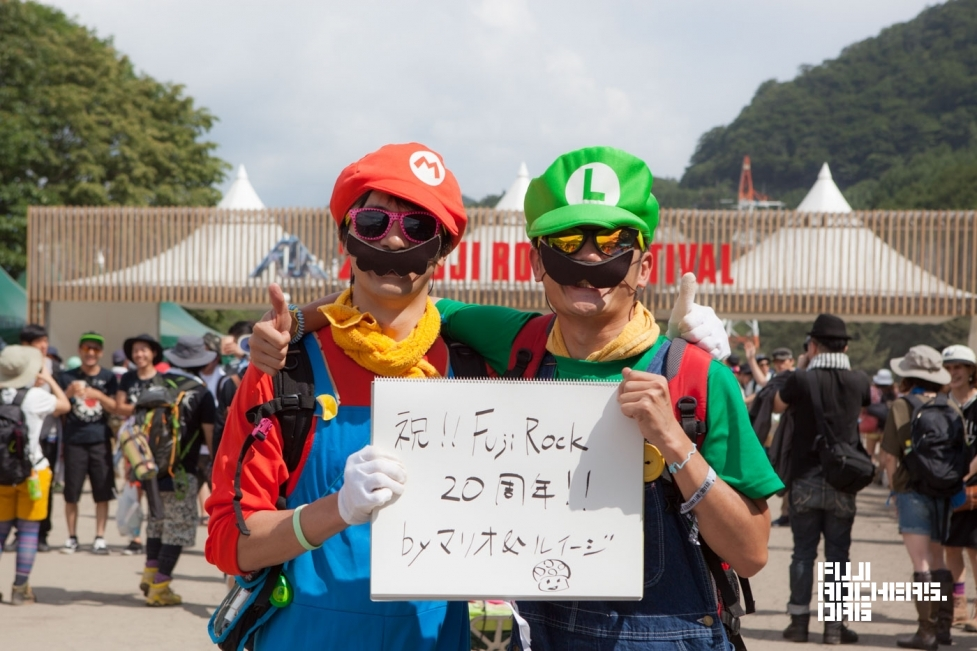 Message for 20th FUJIROCK! #17