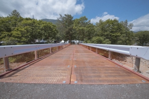 【朗報】やったあ!オアシスへ渡る橋、復活!
