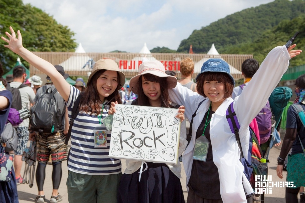 Message for 20th FUJIROCK! #12