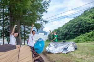 キャンプサイト清掃隊