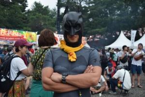 バットマン、否、ナエバットマンです