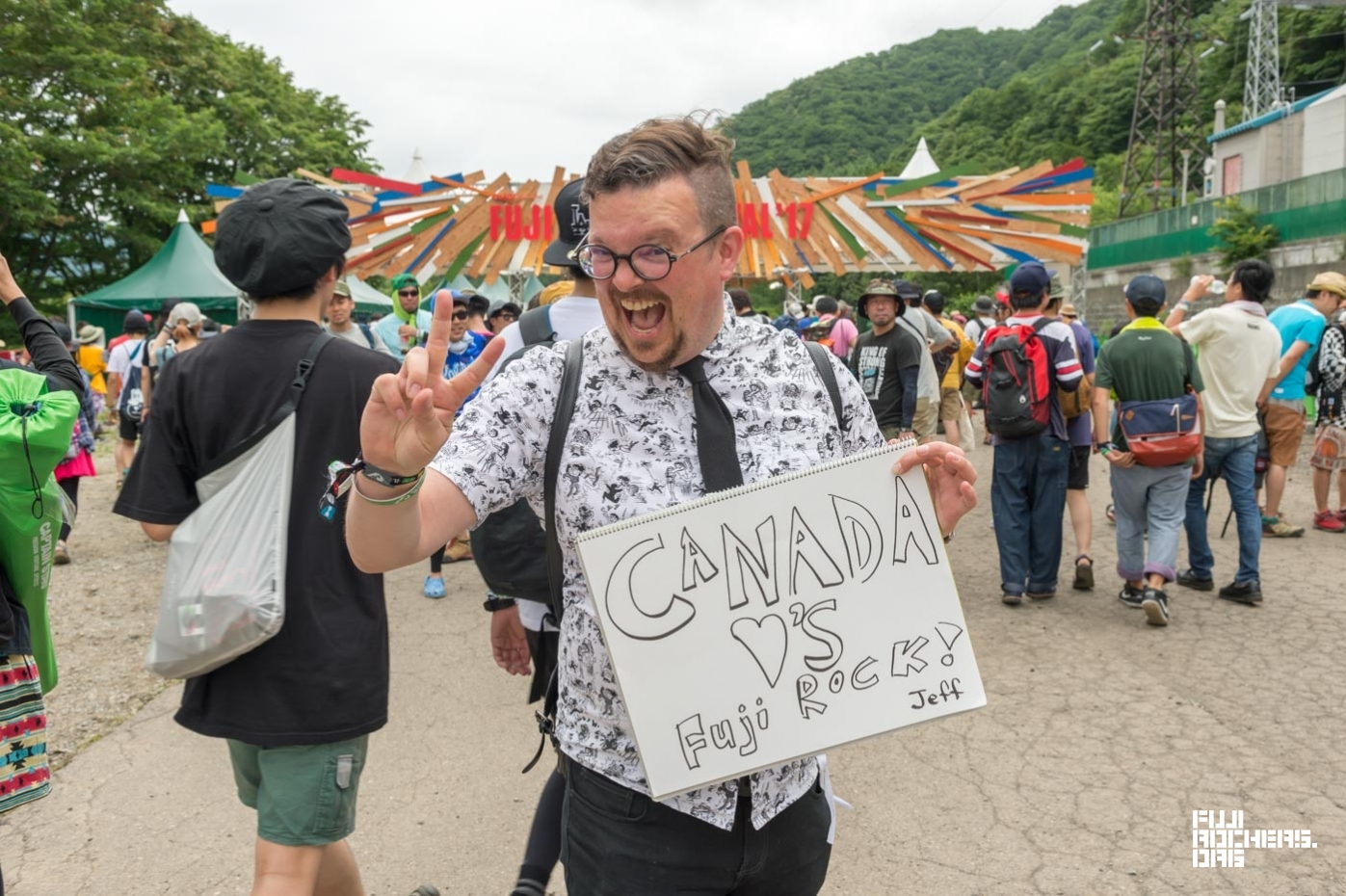Message for Fujirock