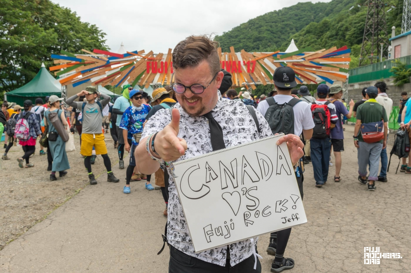 Message for Fujirock #28