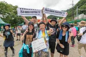 Message for FUJIROCK!