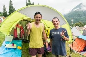 突撃!テント訪問! #03
