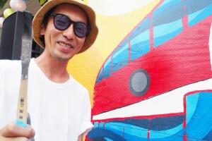 ペイントアーティストHAYATO HOLHY HORIさんに今年もインタビュー!