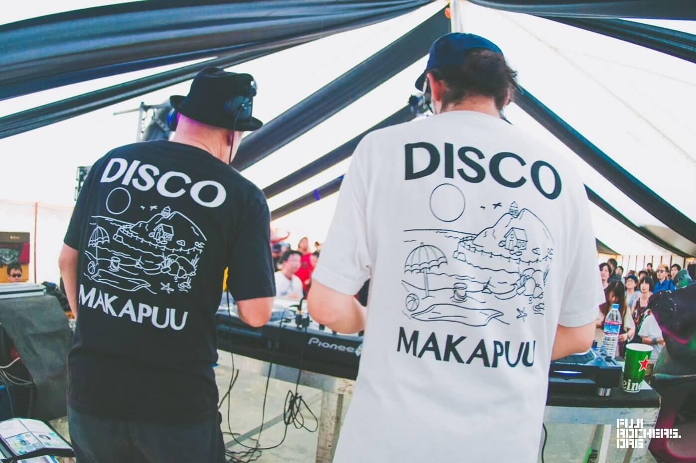 "DISCO MAKAPU'U(川辺ヒロシ / サイトウ""JxJx""ジュン)"