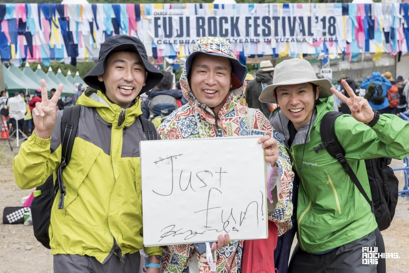 Message for Fujirock! 2018 #073