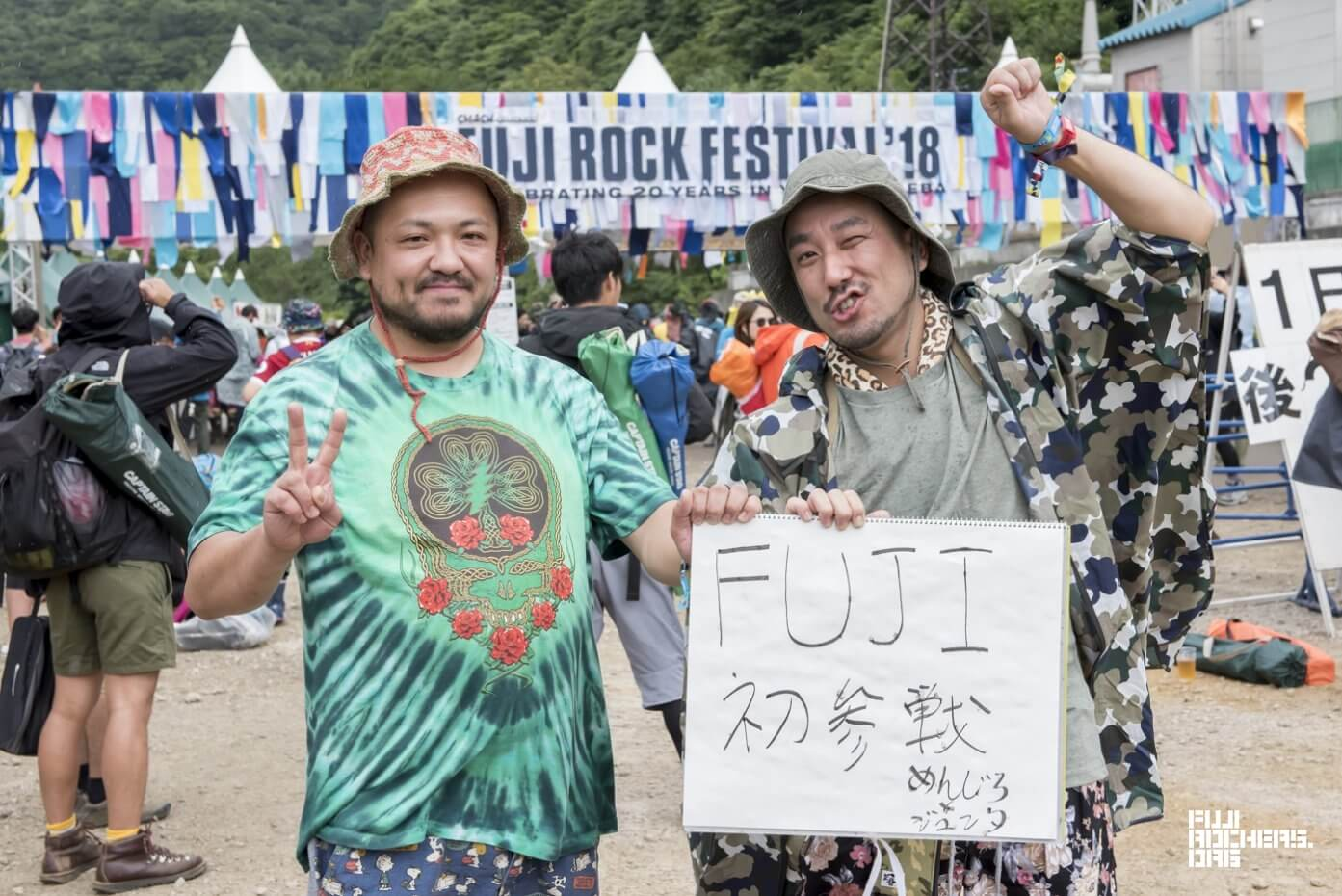 Message for Fujirock! 2018 #076