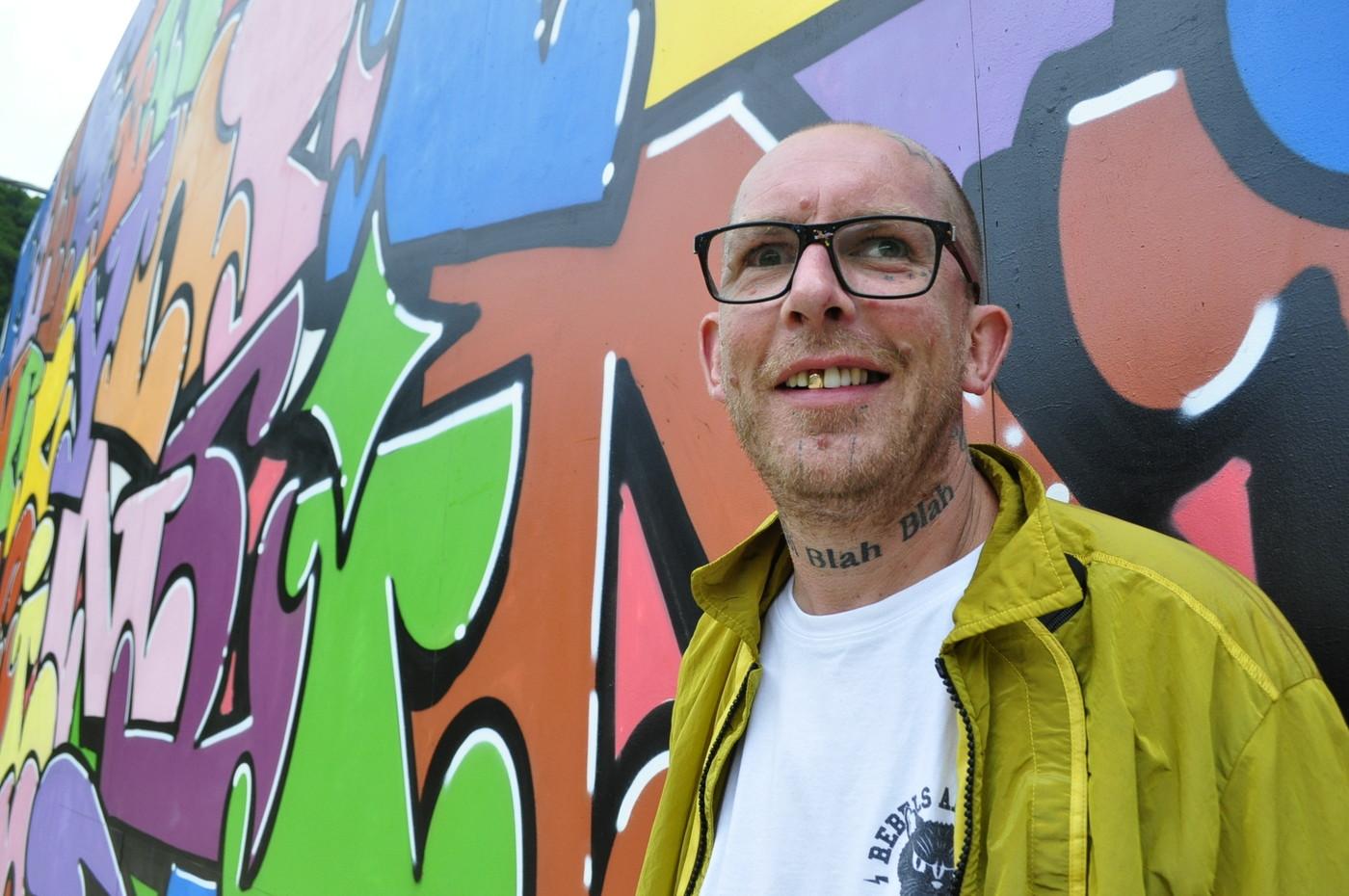 アンフェアグランドのグラフィティアーティスト #2