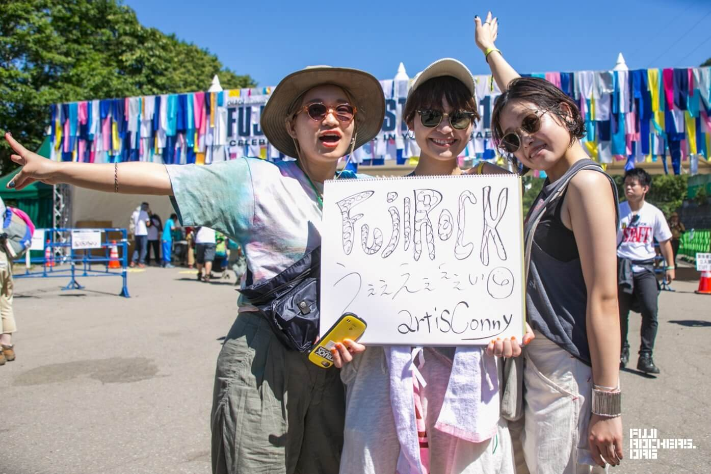 Message for Fujirock! 2018 #021