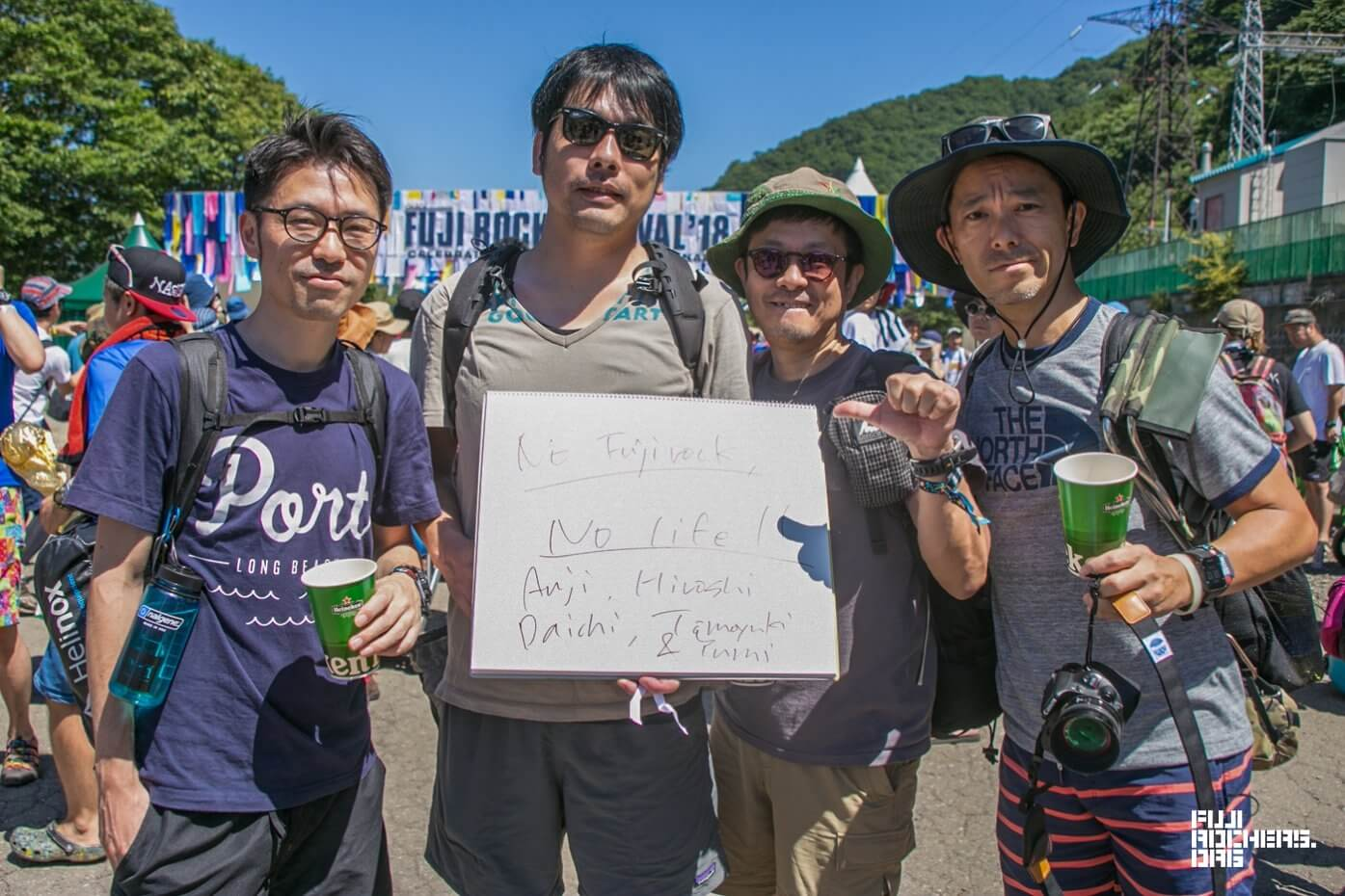 Message for Fujirock! 2018 #023