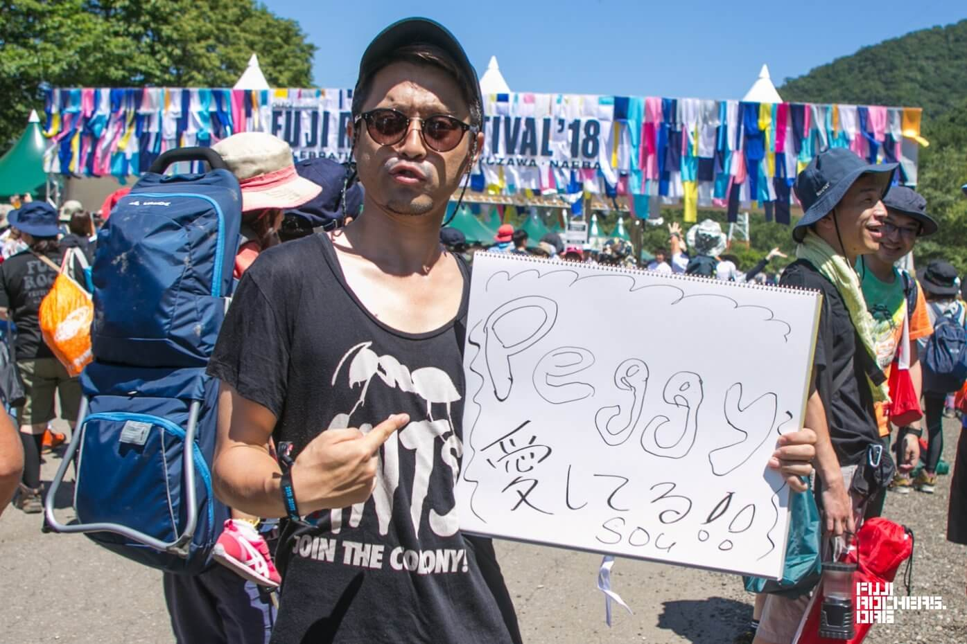 Message for Fujirock! 2018 #018