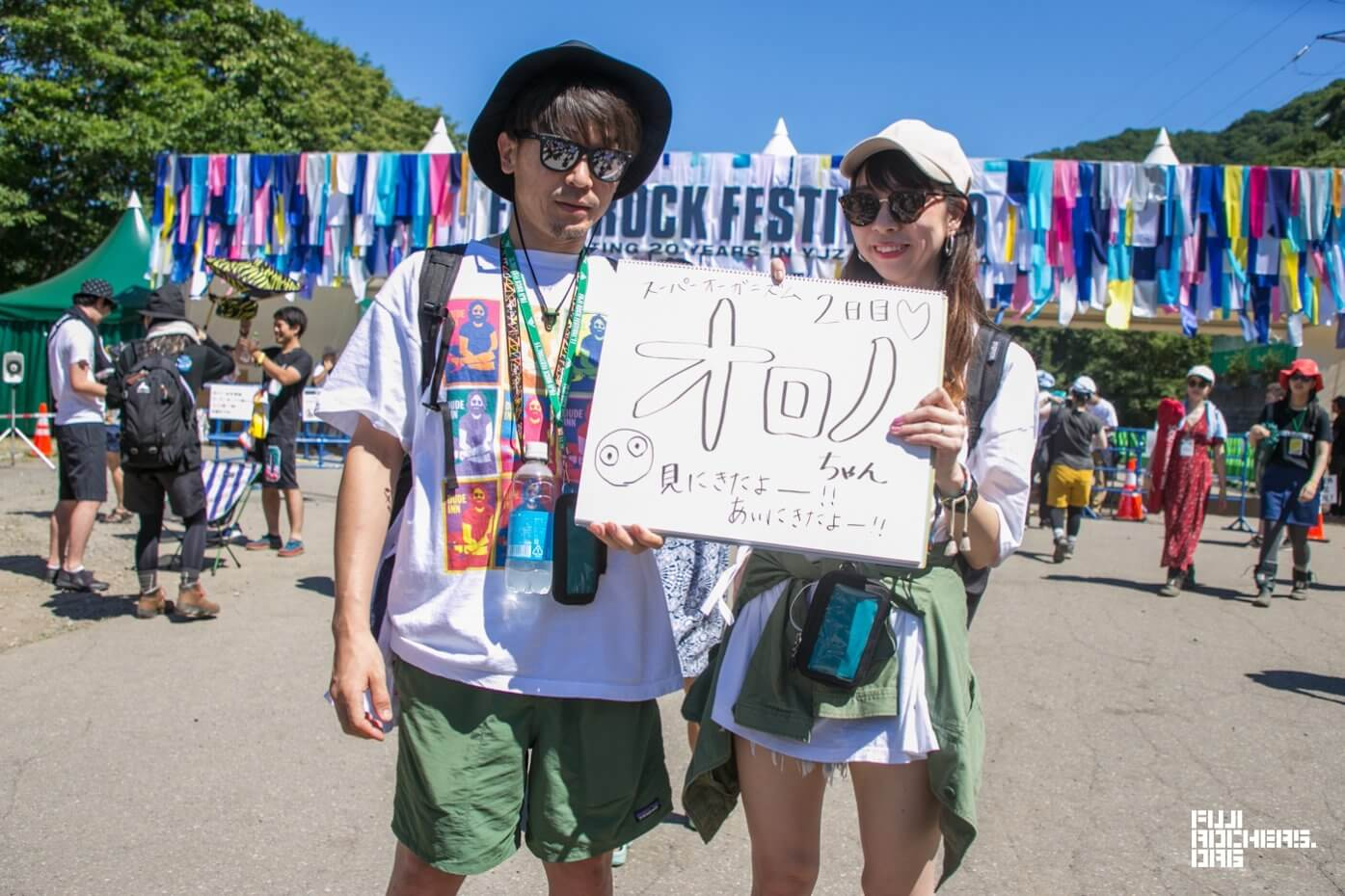 Message for Fujirock! 2018 #019