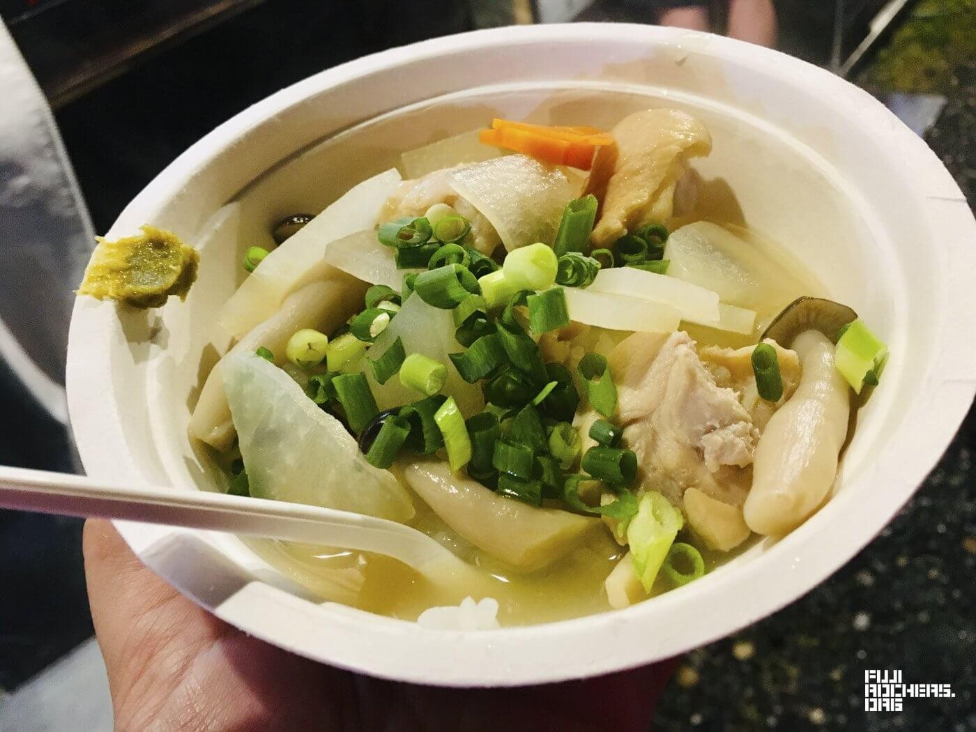 博多水炊きスープ雑炊