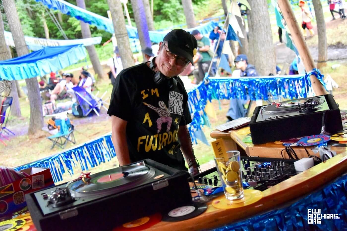 Fujirockers bar : Yu K.WEST, Koichi Hanafusa and Wildcat Tex