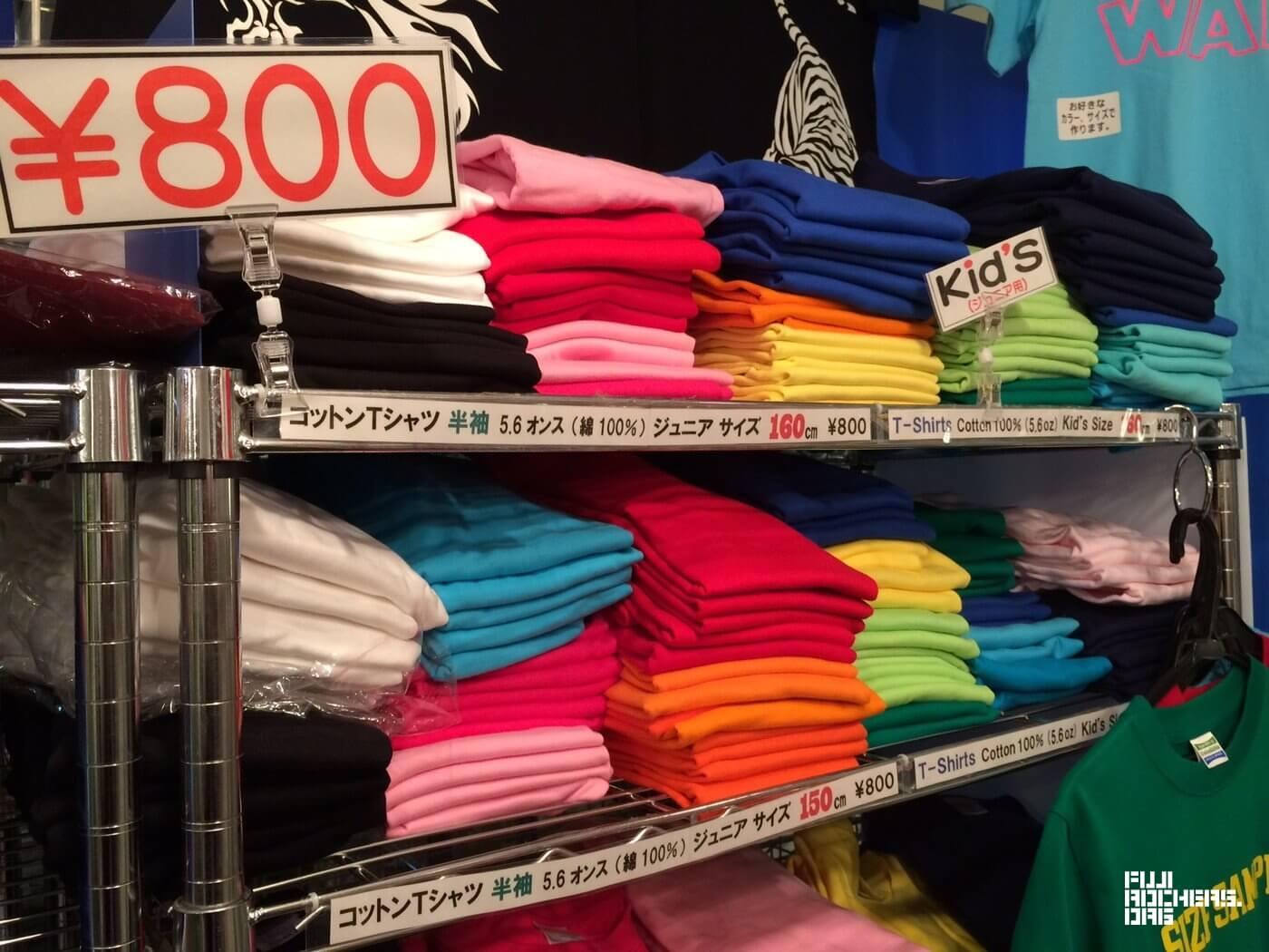 苗プリで無地Tシャツ売っています(キッズ~大人サイズ)