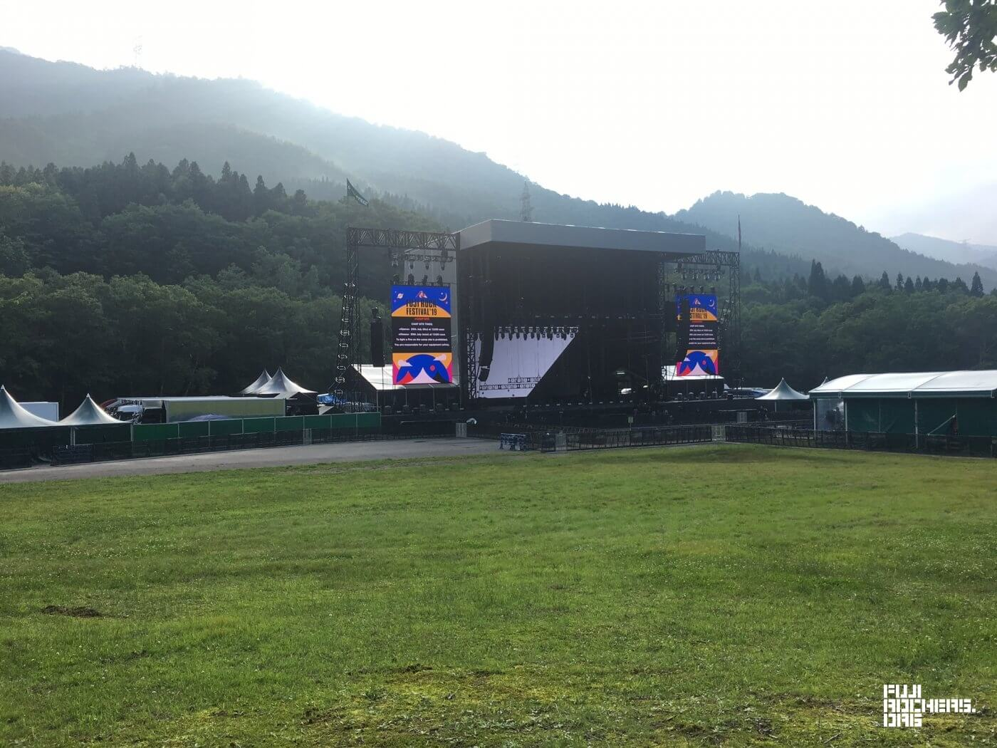 The Green Stage is Waiting…