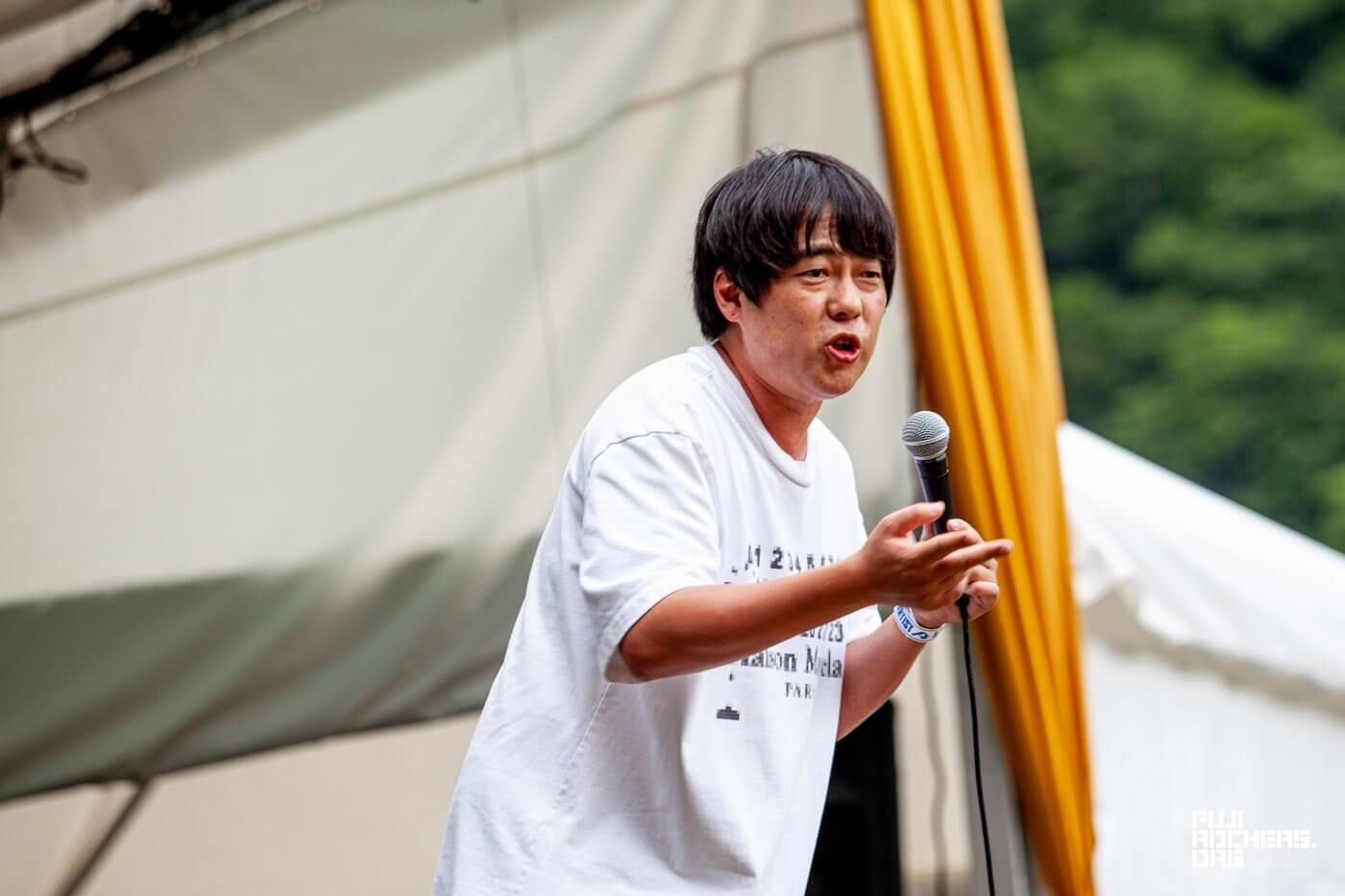 アトミック・カフェ トーク【村本大輔(ウーマンラッシュアワー)】