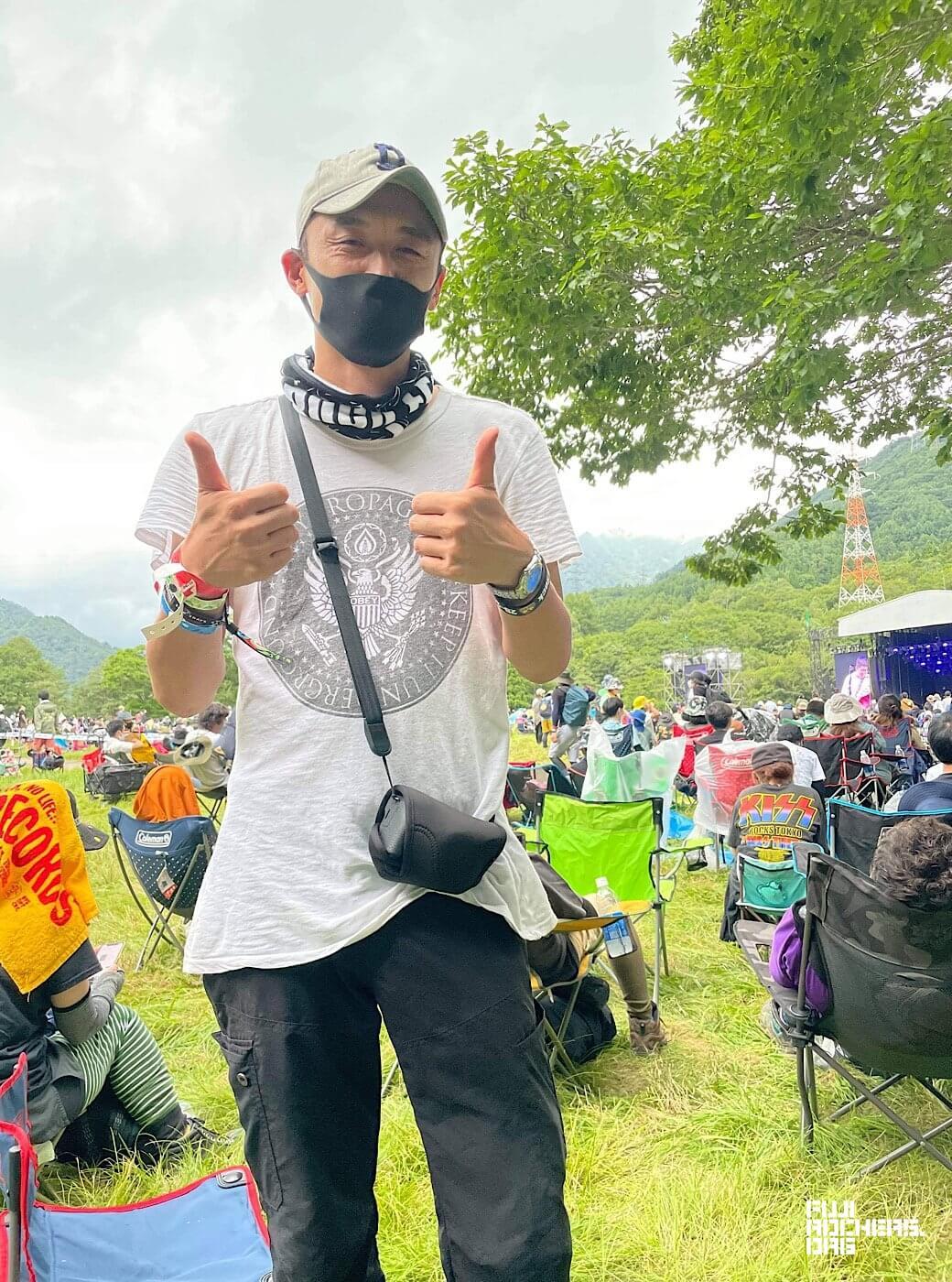 An Interview With a Diehard Fuji Rock Fan: Shinji Kaneko