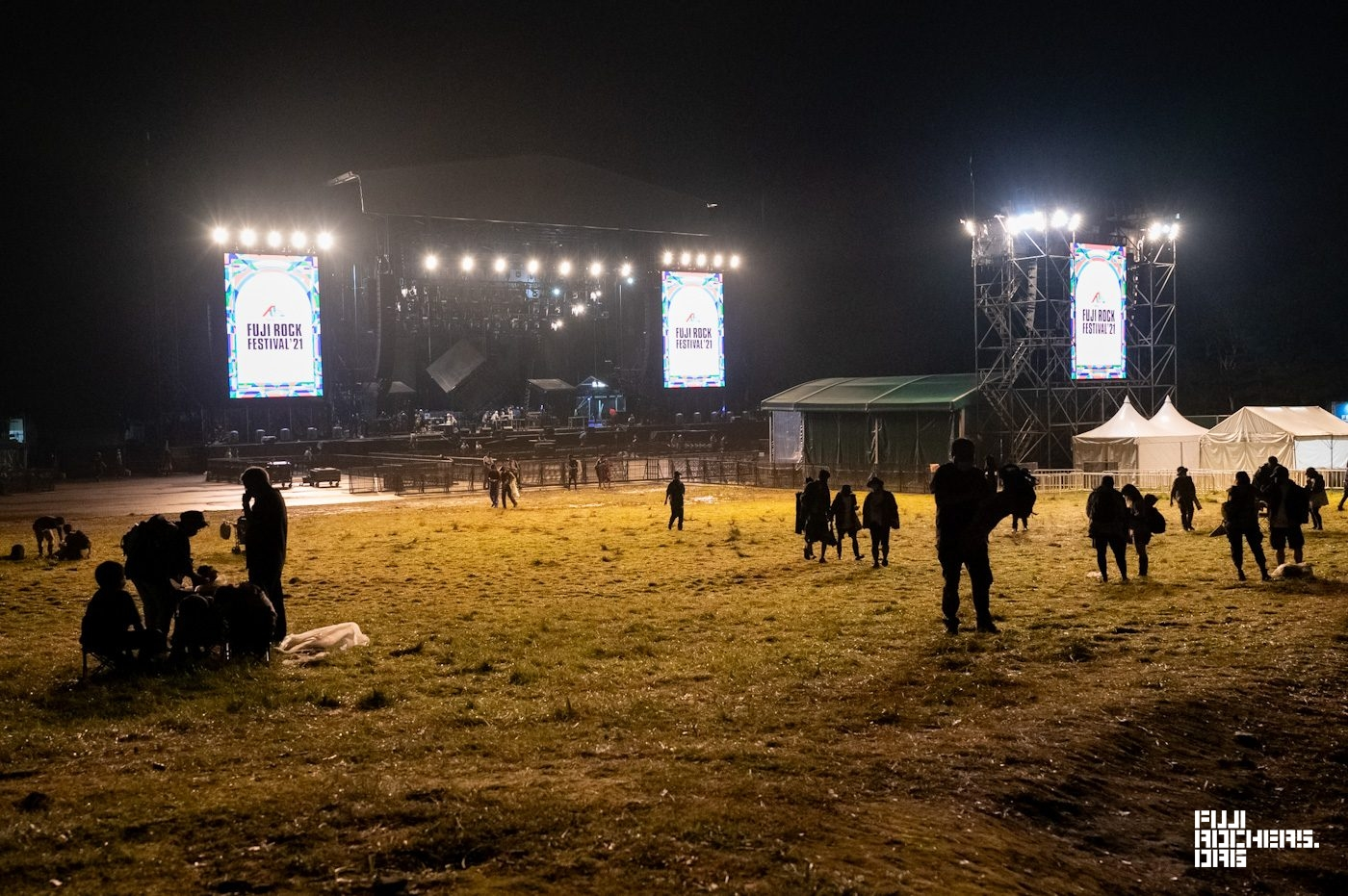 """All making the serious decision to come face-to-face with """"Corona Fuji Rock"""""""