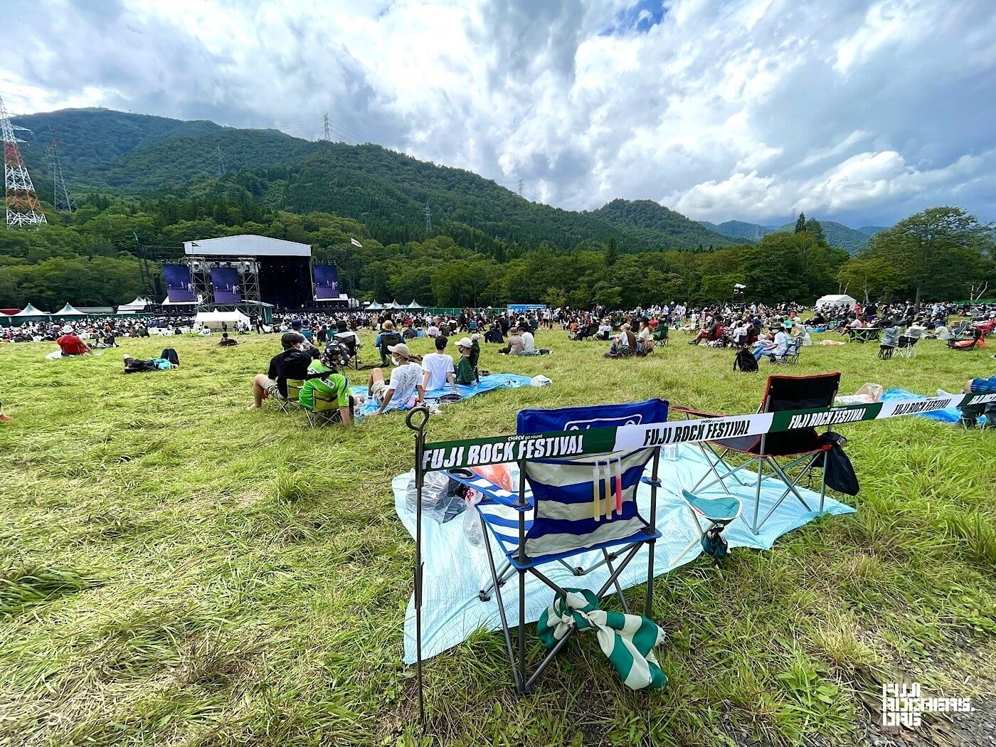 The Unattended Camping Chairs of Fuji Rock